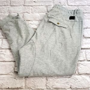 Adidas NEO Drop Crotch Gray Athletic Pants size L